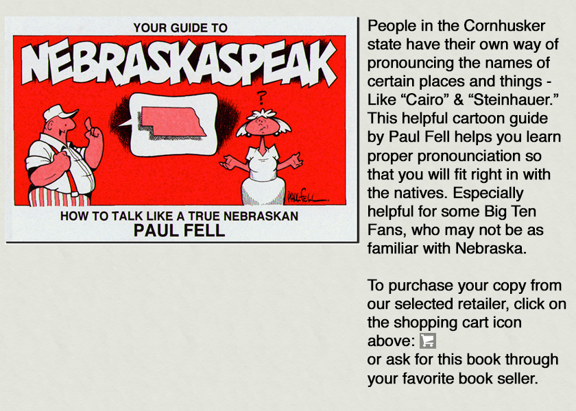 Nebraska Speak Book