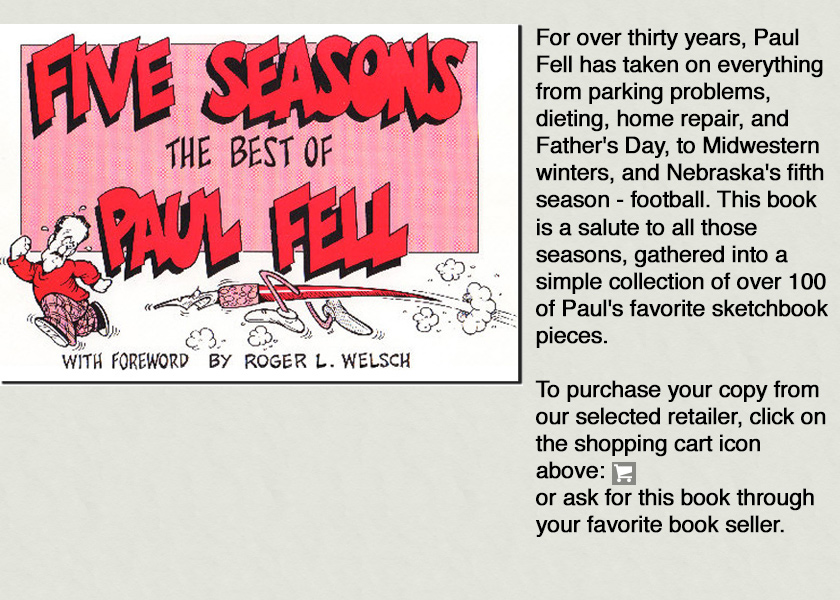Five Seasons The Best Of Paul Fell Book